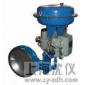 ZMAW-6B/K型气动薄膜式调节蝶阀